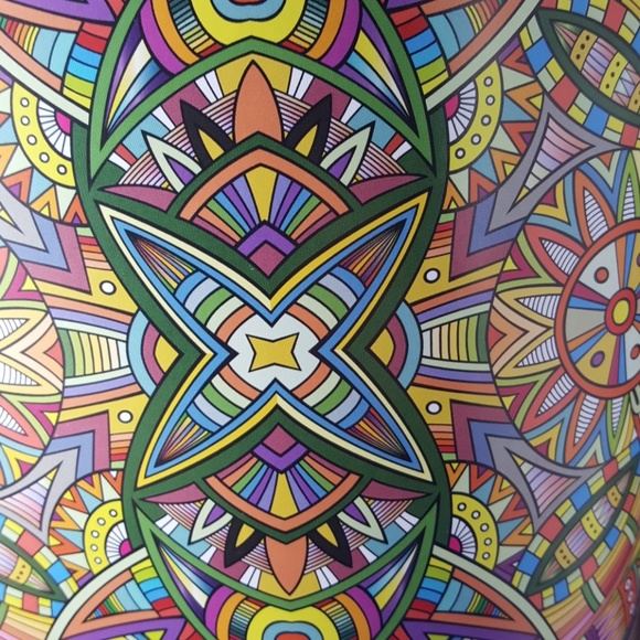 NEW Mandalas Coloring Book Gift Set